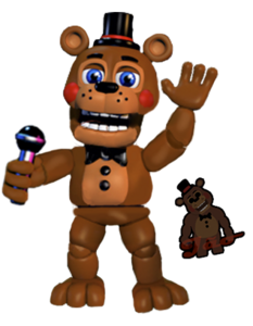Toy Freddy WORLD