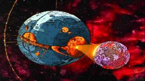 Transformers G1 The Movie Unicron Destroys Lithone