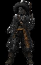 Cursed Barbossa KHII