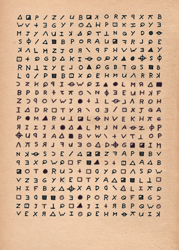 408 Zodiac cipher