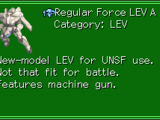 Regular Force LEV A