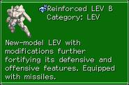 Reinforced LEV B MechRef
