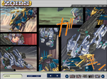 Zoids webcomic screenshot