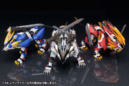 Liger Type forms in Zoids Genesis