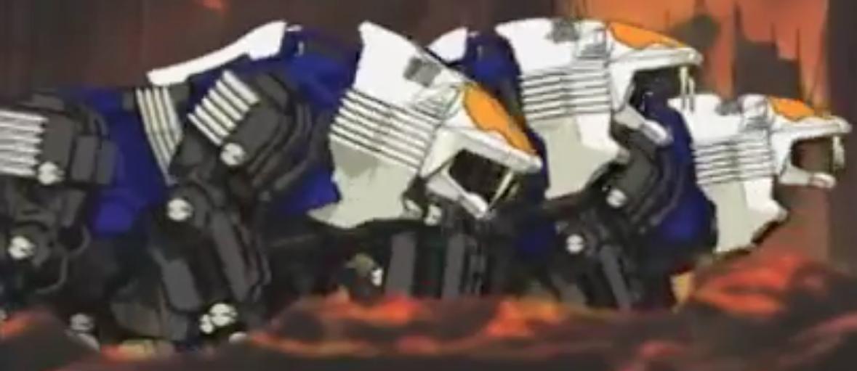 Image result for zoids the white shield liger