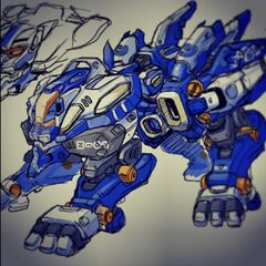 Possible early design of Quad Liger