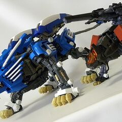 Van's Blade Liger and Irvine's Command Wolf Ready!