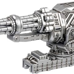 The Burning Liger's Core Drive Weapon: Impact Gatling