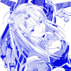 An artwork from the Dengeki Hobby Magazine of <a href=
