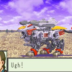 Max's Blade Liger firing its AB Cannons.