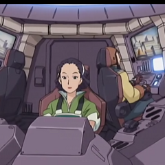 Inside the cockpit in Zoids Genesis