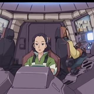Inside the cockpit in Zoids Genesis