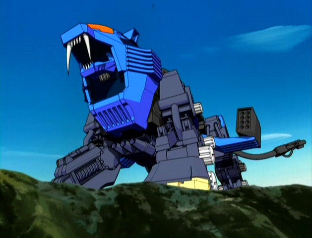 Image result for zoids the shield liger