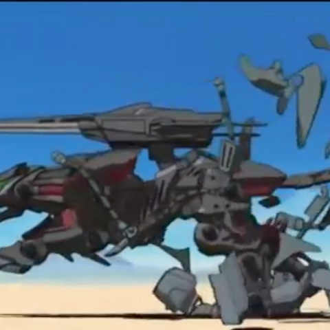 Irvine's Lightning Saix removing armor.