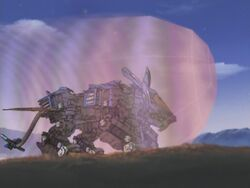 Blade Liger energy shield