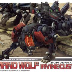 Command Wolf Irvine custom HMM