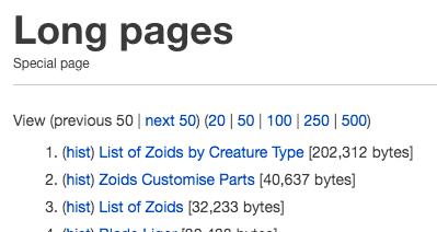 Screenshot longpages