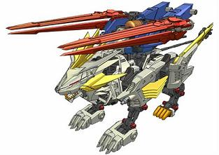 Image result for zoids Liger Zero Falcon