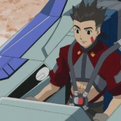 Van at the controls of his Blade Liger