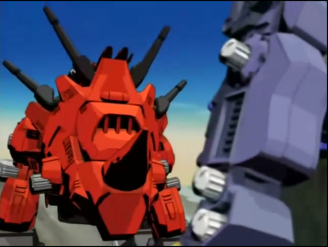 Image result for zoids red horn and dark horn
