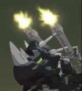 Dark horn Raven anime