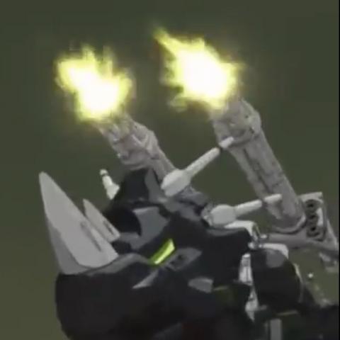Raven's temporary Dark Horn MK-II.