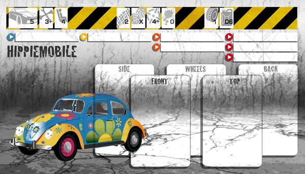 Dashboard Hippiemobile