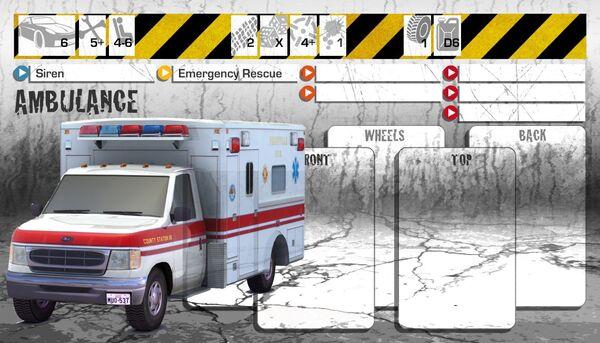 Dashboard Ambulance