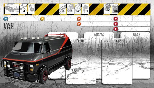Dashboard Van