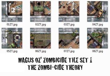 Big Z Theory Contact Sheet