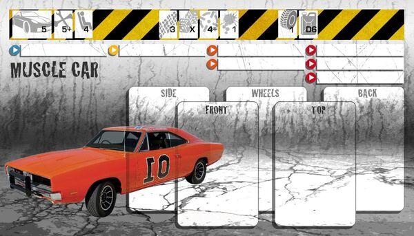 Dashboard Muscle Car