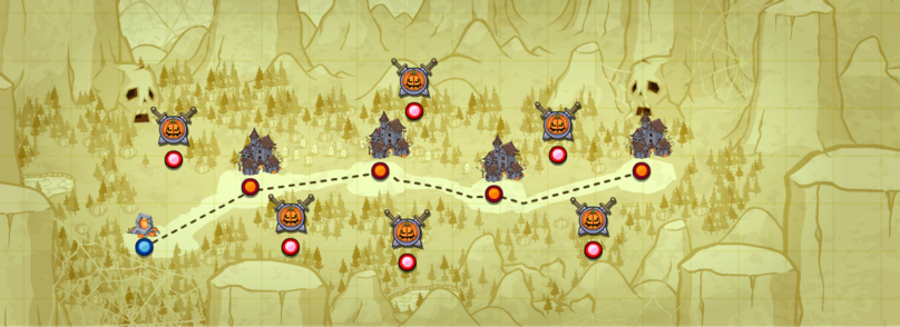 Halloween Map