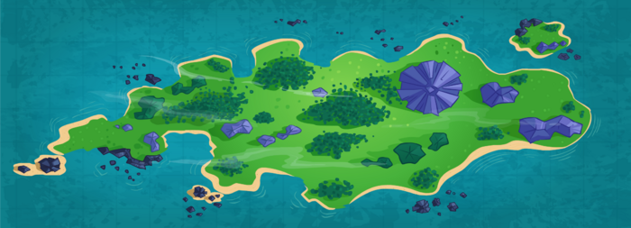 Map Pleasure Island