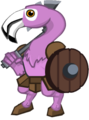 Boss Greg the Flamingo