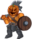 Halloween Pumpkin Warrior2