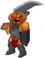 Halloween Pumpkin Warrior1