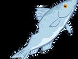 Blue Fish on a Stick