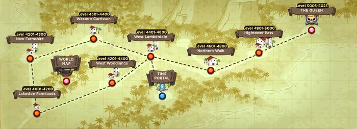 Burbtopia map