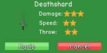 Deathshard stats