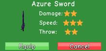 Azure Sword Stats