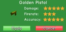 Golden Pistol Stats
