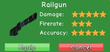 Railgun Stat