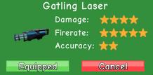 Gatling Laser Stat