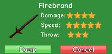 Firebrand Stats