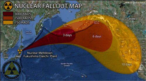 Japanfukushimanuclearfalloutmap