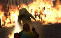Left 4 dead 2 зомби в костюме биологической защиты