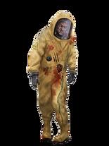 Зомби в биологическом костюме2