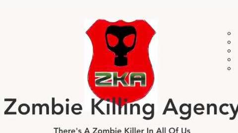 Zombie Killing Agency Website