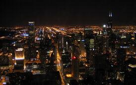 Свет в городе
