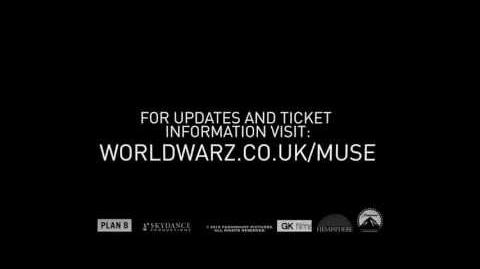Muse Live in London following The World War Z World Premiere